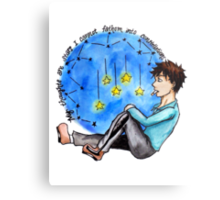 """TFIOS - """"My Thoughts Are Stars I Cannot Fathom Into Constellations"""" Metal Print"""