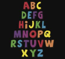 Alphabet by scatmanjnr
