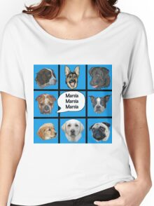 Silly dogs spoof  Women's Relaxed Fit T-Shirt