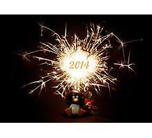 HAPPY NEW YEAR !!! Photographic Print