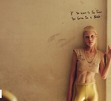 "Die Antwoord poster ""IF U WANNA B RICH"" by kissmyartichoke"
