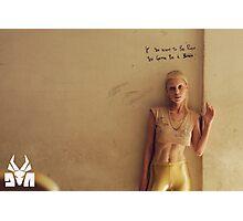 "Die Antwoord poster ""IF U WANNA B RICH"" Photographic Print"