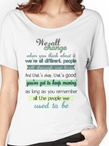 the doctor quote Women's Relaxed Fit T-Shirt
