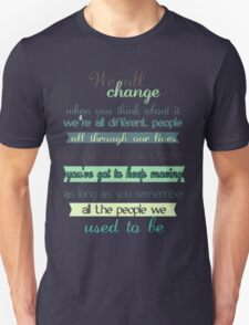the doctor quote Unisex T-Shirt