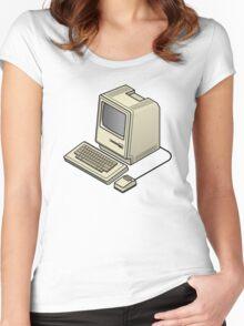 The Original Mac 128 Women's Fitted Scoop T-Shirt