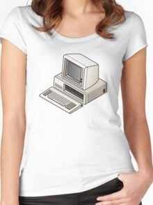 IBM PC 5150 Women's Fitted Scoop T-Shirt