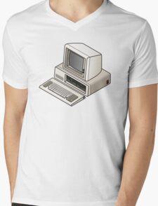 IBM PC 5150 Mens V-Neck T-Shirt