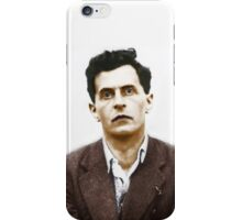 Ludwig Wittgenstein Portrait (colourized) iPhone Case/Skin