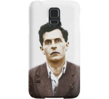 Ludwig Wittgenstein Portrait (colourized) Samsung Galaxy Case/Skin