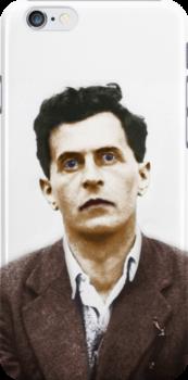 Ludwig Wittgenstein Portrait (colourized) by taudalpoi