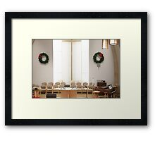 All Ready for Christmas Framed Print