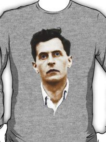 Ludwig Wittgenstein Portrait (colourized) T-Shirt
