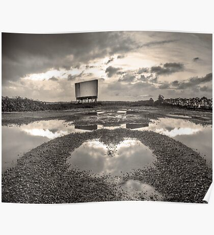 Impossible Landscape with Drive-In Poster