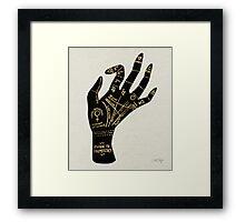 Palmistry Framed Print