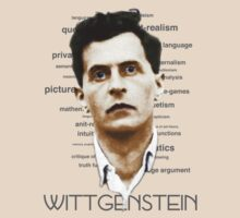 Wittgenstein Tee colourized with Text by taudalpoi