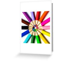 United Colors Greeting Card