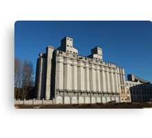 bread silo Canvas Print