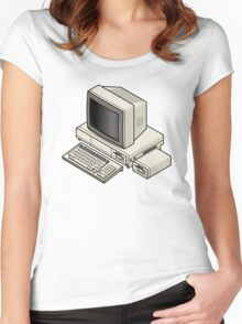 Amiga 1000 Women's Fitted Scoop T-Shirt