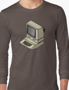 Apple ][ with DuoDrive Long Sleeve T-Shirt