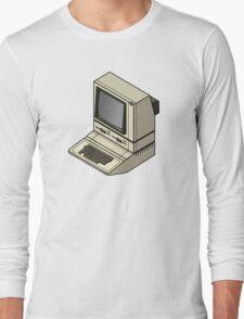 Apple ][ with DuoDrive Long Sleeve T-Shirt