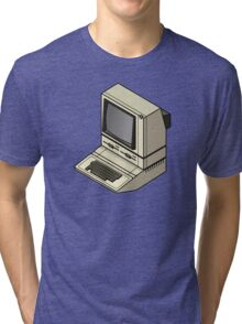 Apple ][ with DuoDrive Tri-blend T-Shirt
