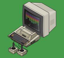 Atari 400 Setup One Piece - Short Sleeve