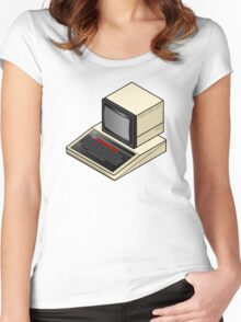 BBC Micro Women's Fitted Scoop T-Shirt