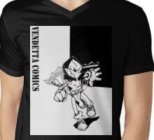 Biscotti Jones Character Shirt Mens V-Neck T-Shirt
