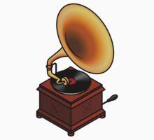 Gramophone Kids Tee