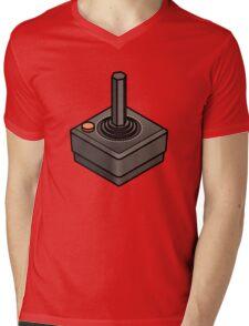 Retro Joystick Mens V-Neck T-Shirt