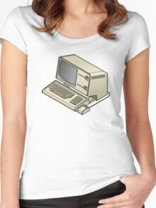 Apple Lisa Women's Fitted Scoop T-Shirt