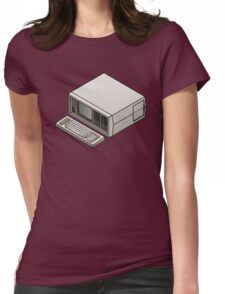 Compaq Portable Womens Fitted T-Shirt