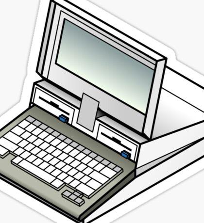 IBM PC Convertible 5140 Sticker