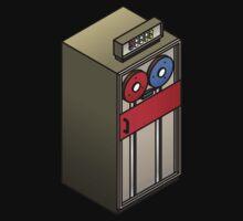 Mainframe Tape Drive One Piece - Long Sleeve