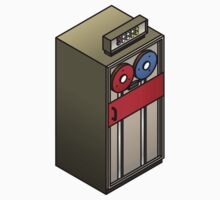 Mainframe Tape Drive by Zern Liew