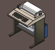 Mainframe Teletype Printer Kids Clothes
