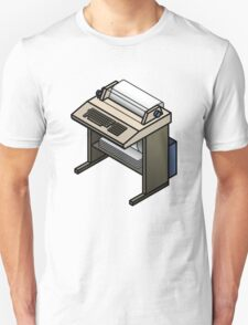 Mainframe Teletype Printer Unisex T-Shirt