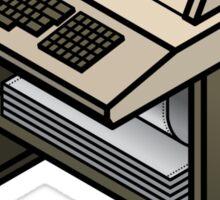 Mainframe Teletype Printer Sticker
