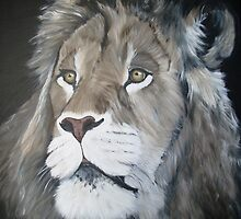 lion 2 by zoombeeart