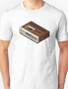 Vintage Woodgrain VCR T-Shirt