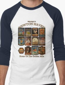 Newton Haven Pubs Men's Baseball ¾ T-Shirt
