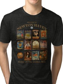 Newton Haven Pubs Tri-blend T-Shirt