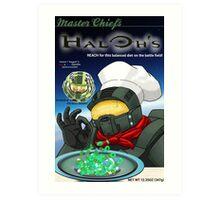 Haloh's cereal Art Print