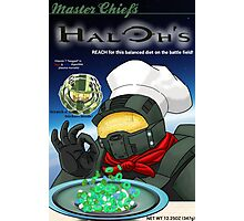 Haloh's cereal Photographic Print