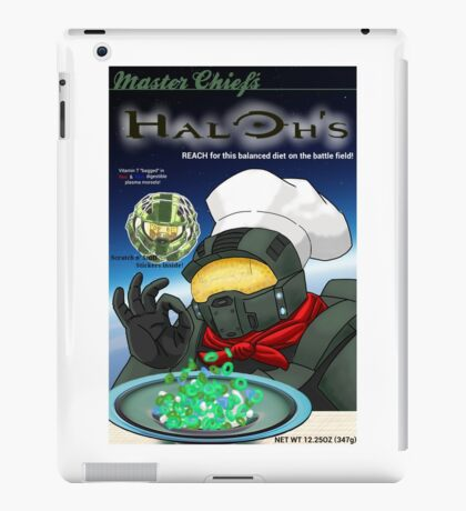 Haloh's cereal iPad Case/Skin
