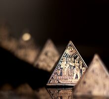 Pyramids in a row by asharpphoto