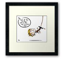 ComicCon Framed Print