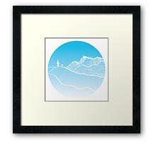 Vanilla Day Framed Print