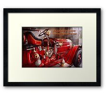 Inspiration - Truck - Waiting for a call Framed Print