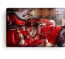 Inspiration - Truck - Waiting for a call Canvas Print